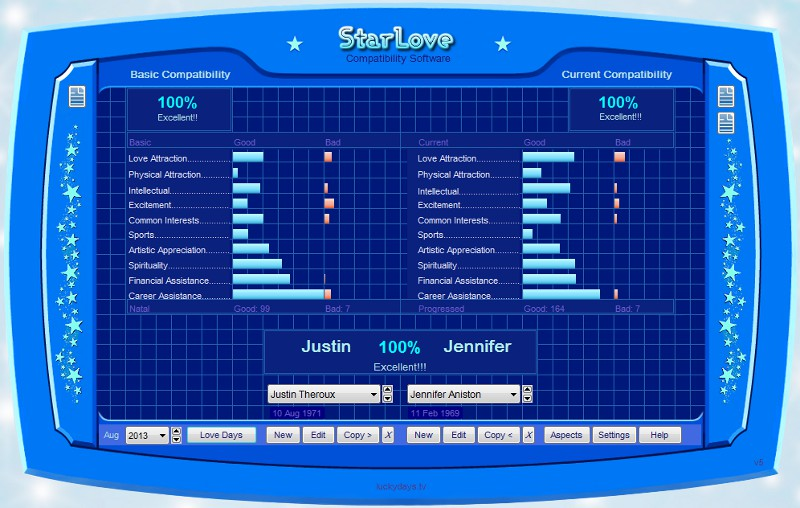 StarLove Screen shot